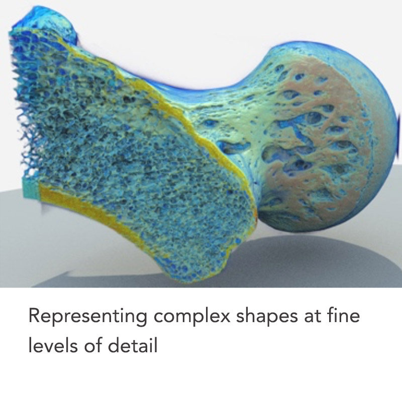 Multi-material design optimization for systems driven by complex physics e.g. solid rocket fuels